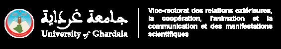 V.R chargé des relations extérieures, la coopération, l'animation et la communication et des manifestations scientifiques